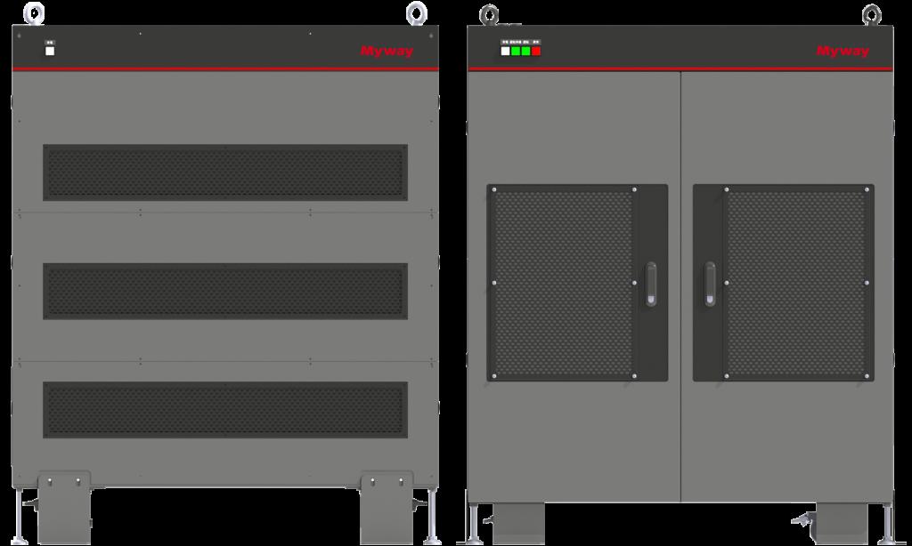 インバータ評価システムモータエミュレータ